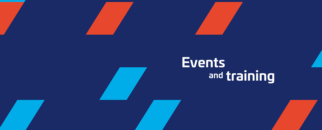 Events and training header